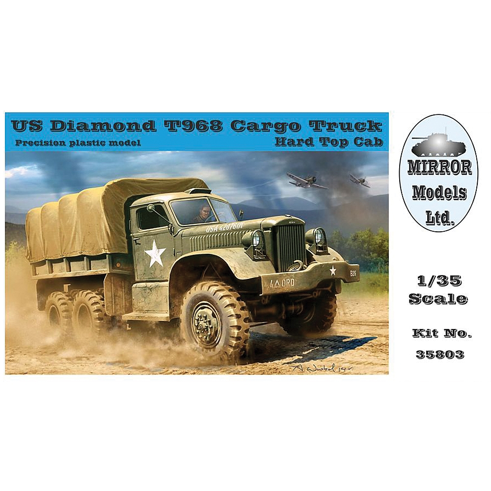 US Diamond T 968 Cargo Truck (hard top cab)