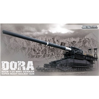 Dora 80cm WWII German Super Heavy Railway Gun