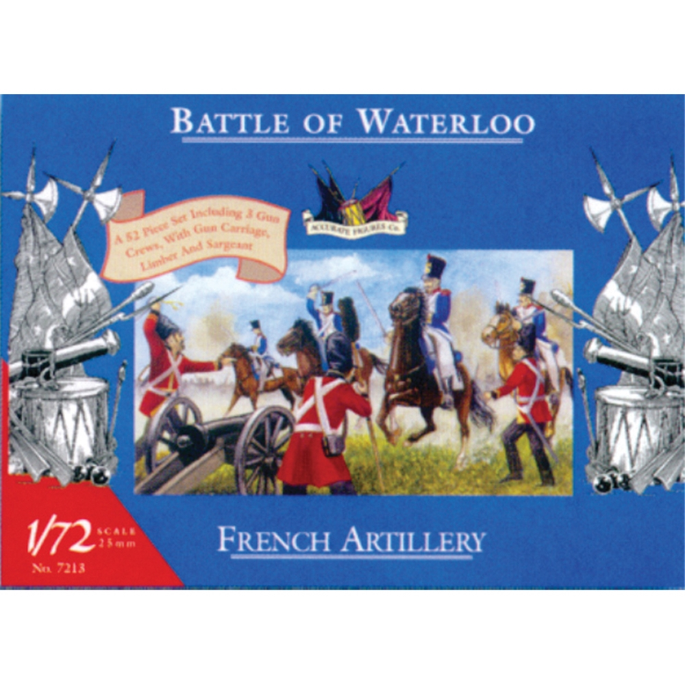French Artillery - Waterloo (ex-Airfix)
