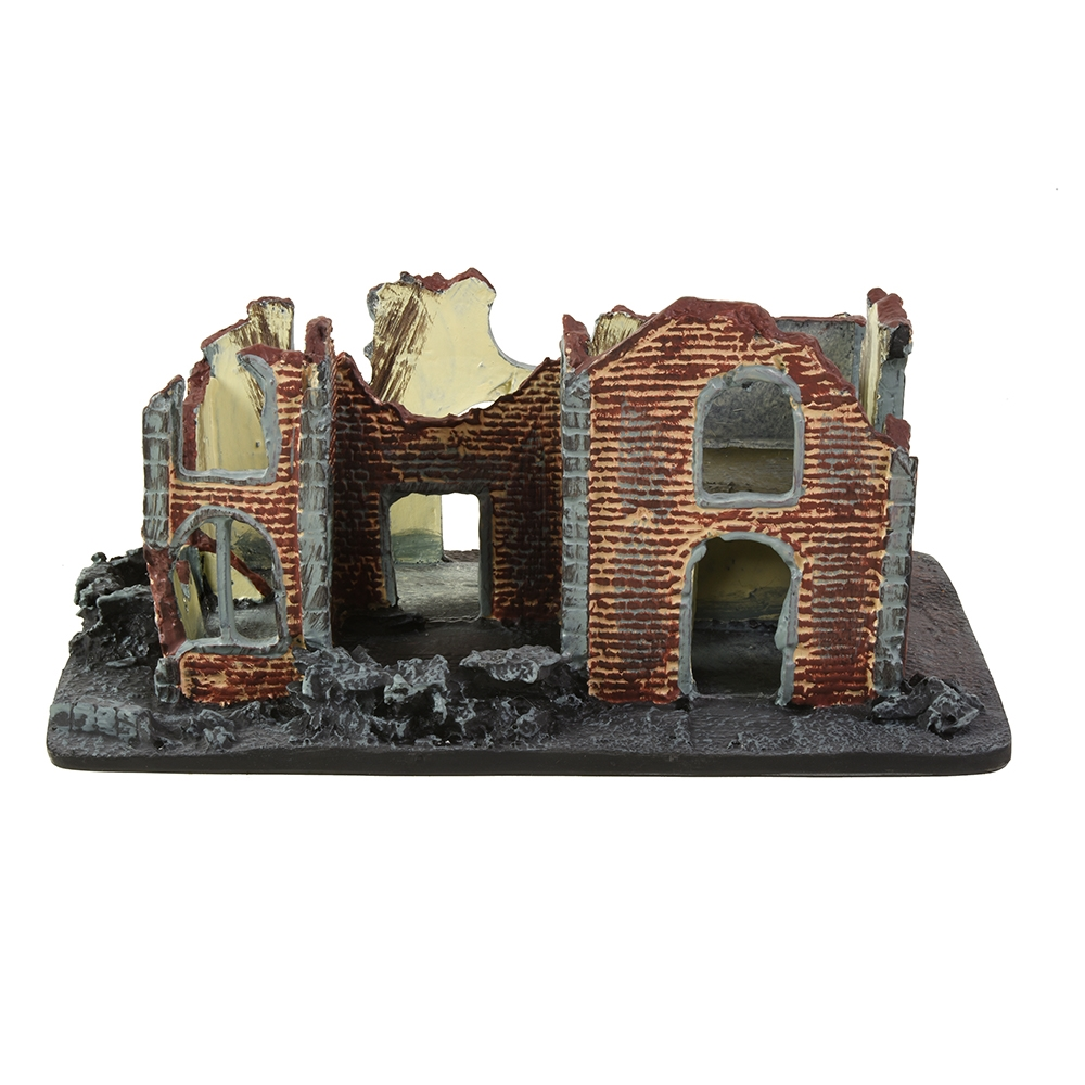 Ruined House - Removeable Roof