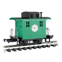 Li'l Big Haulers - Caboose Short Line Railroad Green w/Black Roof