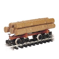 Skeleton Log Car with Logs - Painted, Unlettered