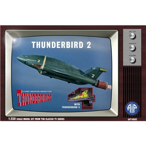 Thunderbird 2 with Thunderbird 4