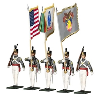 West Point Military Academy Cadet Color Guard - 5 Piece Set