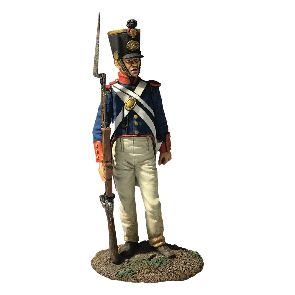 Mexican Infantry No.1, 1836