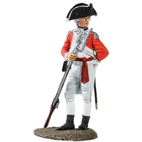 British Marine Officer, 1780