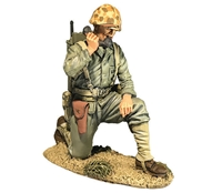 U.S. Marine with SCR300 Radio, 1944-45