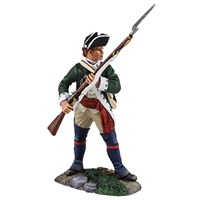 Loyalist Butler's Ranger NCO Defending with Musket