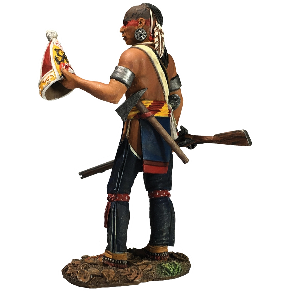 Native Warrior with Souvenir Grenadier Cap