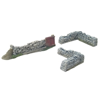 Gate and Corner Stonewall Section 3 Piece Set