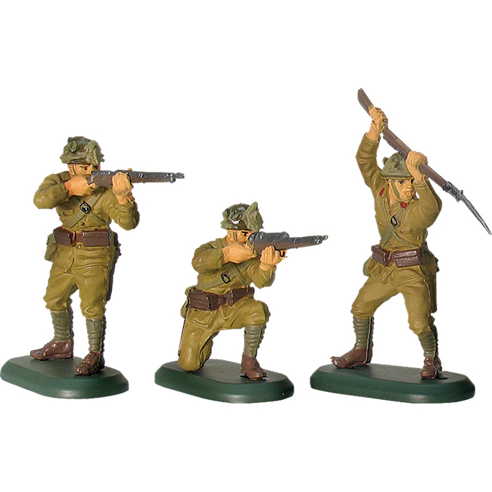 World War II Japanese Infantry 48 Piece Counter Pack