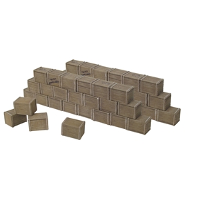 Biscuit Box Wall Sections - 6 Piece Set