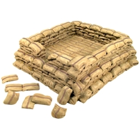 Rorke's Drift Redoubt Section - 6 Piece Set