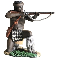 Zulu uDloko Regiment Kneeling Firing Percussion Rifle №1