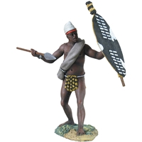 Natal Native Contingent with Spear