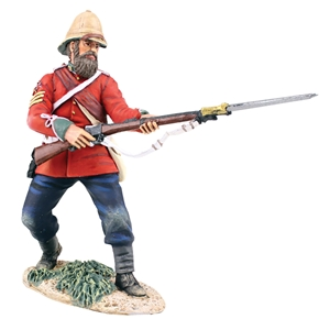 B20174 British 24th Foot Sgt. Bourne №2, Parrying w/Bayonet Reissue