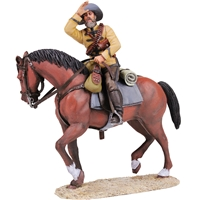 Mounted Frontier Light Horse - 2 Piece Set with Certificate