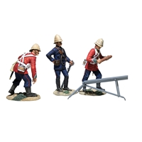 British Hale Rocket Battery - 4 Piece Set with Certificate