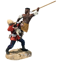 """A Determined Attack!"" Zulu & 24th Foot from High Position with Certif"