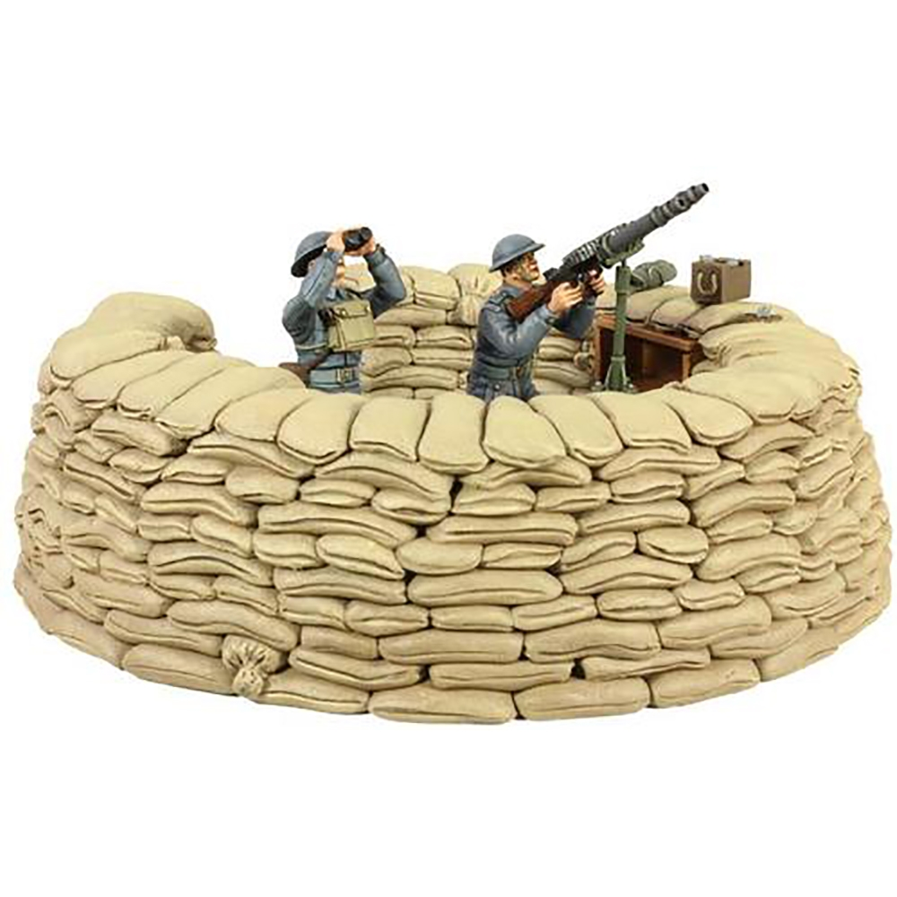 RAF Lewis Gun Emplacement - 5 Piece Set with Certificate