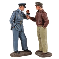 """Got A Light?"" Pilots Lighting Cigarette - 2 Piece Set"