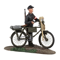German Hitler Youth pushing Bicycle №1