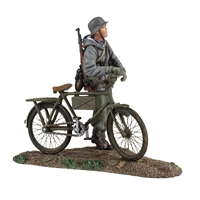 German Volkgrenadier pushing Bicycle №1