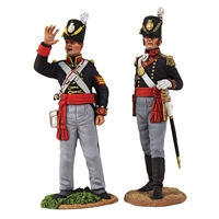 Royal Artillery Officer & NCO Signalling - 2 Piece Set with Certificat