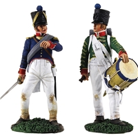 French Infantry Command Set-Drummer №2 & Line Officer №2