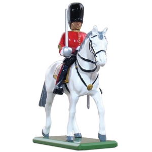 Scots Guard Officer Mounted