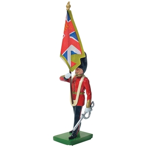 Scots Guard Colour Bearer, Regimental Colour