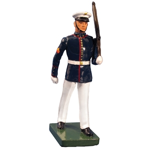 United States Marine Corps Marching, Summer Dress