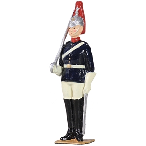 B49024 British Blues and Royals Trooper on Foot