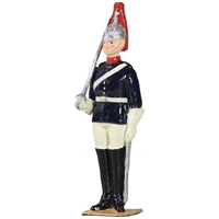 British Blues and Royals Trooper on Foot
