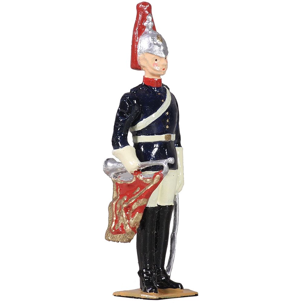 B49034 British Blues and Royals Trumpeter on Foot