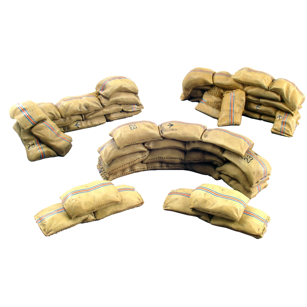 Mealie Bag Wall Curved & Short Straight Sections - 5 Piece Set