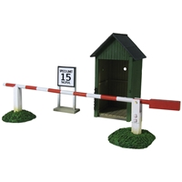 Air Base Sentry Box & Gate - 3 Piece Set