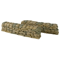 Sand Bag Walls - 2 Piece Set