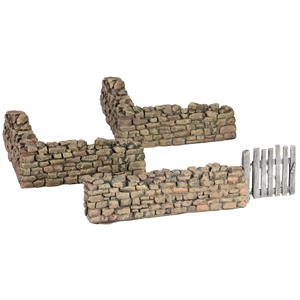 Rorke's Drift Kraal Corner and Gate Sections - 3 Piece Set