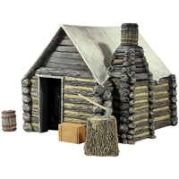 American Civil War Winter Hut №1 - 4 Piece Set
