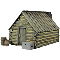 American Civil War Winter Hut №2 - 4 Piece Set