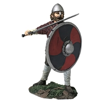 Saxon Pushing with Shield (Hereward)