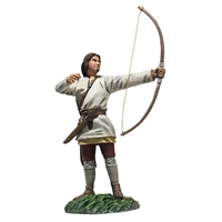 Saxon Archer No.2 Arrow Loosed (Osfirth)