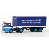 E22105 Ergomatic Articulated Box Van British Road Ferry Services