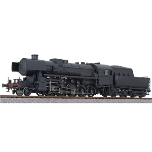 BR 52, neutral livery black, Ep.II-III