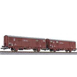 2-unit set ferryboat wagon type Hfs 312 DB Ep.IV light [W]