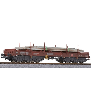 Coil transport wagon type Sahmms 711 DB AG Ep.V brown [W]