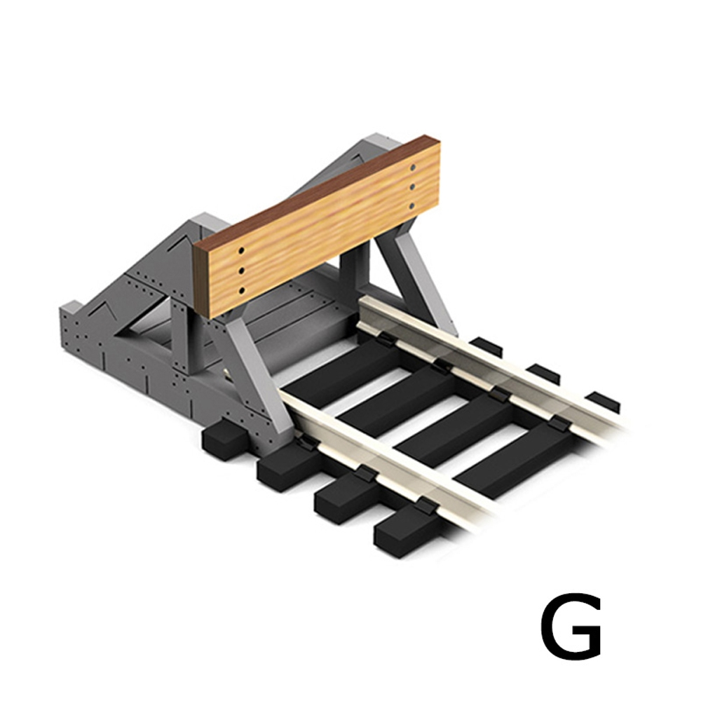 G Scale Buffer Stop w/Real Wooden Plate (2 pcs)