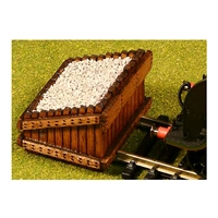 HO/OO Scale Authentic Wood Buffer Stop Kit (2 in a pack)