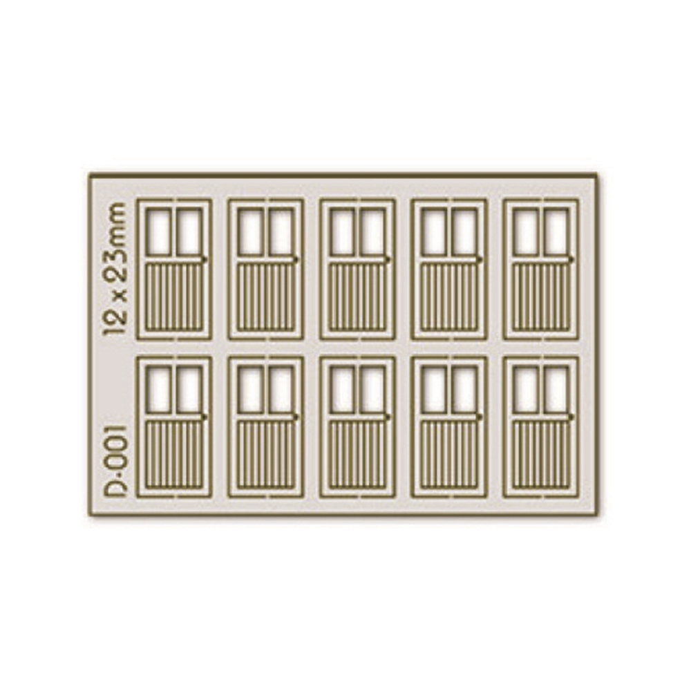 10 pcs 12X23mm 2 Lite D00rs H0/00